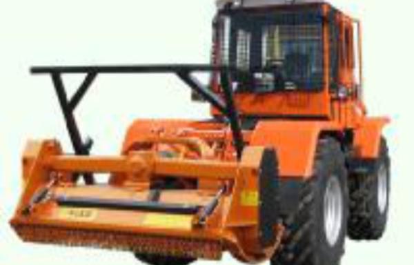 ХТА 208.1Р с лесотехническим измельчителем (мульчером) ECF/DT 220 и EFX/DT 220 (Италия)